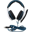 SADES - Sades SA-903 7.1 Surround Sound Effect USB Gaming Headset Headphone Earphone with Mic - White