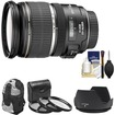 Canon - EF-S 17-55mm f/2.8 IS USM Zoom Lens with Backpack + 3 UV/CPL/ND8 Filters + Lens Hood + Cleaning Kit