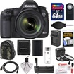 Canon - EOS 5D Mark III Camera+EF 24-70 Lens+64GB+Backpack+Grip+Batt+Chrgr+HDMI Cable+3 Filters - Black