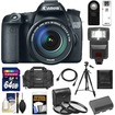 Canon - EOS 70D Camera+EF-S 18-135 IS STM Lens+64GB Card+Battery+Case+3 Filters+Flash+Remote+Tripod+Acc Kit - Black