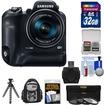 Samsung - WB2200F Smart Wi-Fi Digital Camera with 32GB Card+Backpack+Flex Tripod+3 UV/ND8/CPL Filters Kit