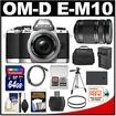 Olympus - Bundle OM-D E-M10 Micro 4/3 Digital Camera & 14-42mm II R Lens (Silver/Black) - Silver