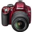 Nikon - Bundle D3200 SLR Camera - Red