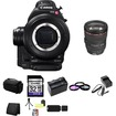Canon - Bundle EOS C100 EF Cinema Camcorder (Body Only)