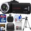 JVC - Everio GZ-R30 Quad Proof Full HD Digital Video Camera Camcorder w/ 32GB Card+Case+Tripod+Acc Kit - Black