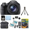 Sony - Bundle DSC-HX400V/B 50x Optiical Zoom 4K Stills Digital Camera Kit