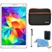 Samsung - Bundle Galaxy Tab S 8.4 Tablet - (16GB, WiFi, Dazzling White) - Dazzling White
