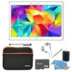 Samsung - Bundle Galaxy Tab S 10.5 Tablet - (16GB, WiFi, Dazzling White) - Dazzling White