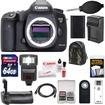 Canon - EOS 5D Mark III Digital SLR Camera Body with 64GB Card+Flash+Grip+Battery+Charger+Backpack+Kit - Black