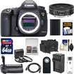 Canon - EOS 5D Mark III DSLR Camera Body w/ 40mm f/2.8 STM Lens+64GB Card+Grip+Batt+Chrgr+Case+Filters Kit - Black