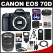 Canon - EOS Bundle EOS 70D Digital SLR Camera Body