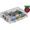 Raspberry Pi - Model B Revision 2.0 (512MB) with Clear Case (by SB Components)