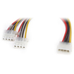 Link Depot - 4-Pin Y Splitter Cable
