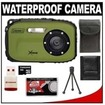 Coleman - Bundle Xtreme C5WP Shock & Waterproof Digital Camera - Green