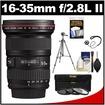 Canon - Bundle EF 16-35mm f/2.8 L II USM Zoom Lens