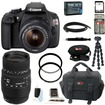 Canon - Bundle EOS Rebel T5 DSLR Camera w/ EF-S 18-55mm IS II Lens