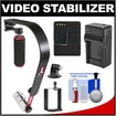 VidPro - Bundle SB-8 Video Stabilizer for GoPro Smartphones Cameras & Camcorders