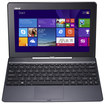 "Asus - Transformer Book 2-in-1 10.1"" Touch-Screen Laptop - Intel Atom - 2GB Memory - 64GB Solid State Drive - Red"