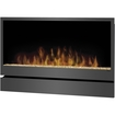 Dimplex - Inspiration Wall Mountable Electric Fireplace - Heating Capacity 1.24 kW - Pewter Gray