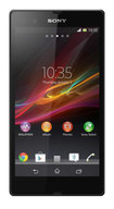 Sony - Xperia Z Cell Phone (Unlocked) - Black - Black