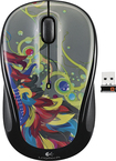 Logitech - M325 Wireless Optical Mouse - Tropical Feathers - Tropical Feathers