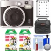 Fujifilm - Instax Mini 90 Neo Classic Instant Film Camera with (2) Instant Film + Case + Battery + Cleaning Kit