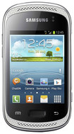 Samsung - Galaxy Y Duos Cell Phone (Unlocked) - White - White
