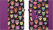 Griffin Technology - Wise Eyes Owls Folio Case for iPad 2, 3, and 4th Gen - Purple