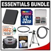 Precision Design - Bundle For Panasonic DMC-GM1 Digital Camera w/ 32GB Card