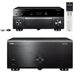 Yamaha - CX-A5000 AVENTAGE Series 11.2 Channel AV Pre-Amplifier & MX-A5000 11 Channel Power Amplifier Bundle
