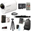 Sony - Bundle HDR-AS100V POV Action Cam