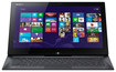 "Sony - VAIO Duo Ultrabook 2-in-1 13.3"" Touch-Screen Laptop - 4GB Memory - 128GB Solid State Drive - Carbon Black"