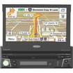 "Jensen - 7"" Automobile Portable GPS Navigator with Bluetooth"