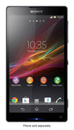 Sony - Xperia ZL 4G LTE Cell Phone (Unlocked) - Black - Black