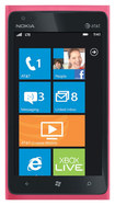 Nokia - Lumia 900 Cell Phone (Unlocked) - Pink - Pink