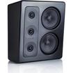 M&K Sound - MP300 THX Ultra2 Certified Left Channel On-Wall Loudspeaker - Each - Black