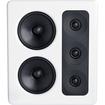 M&K Sound - MP300 THX Ultra2 Certified Left Channel On-Wall Loudspeaker - Each - White