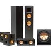 Klipsch - Reference 5.1 Home Audio Speaker System - Black - Black