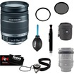Canon - Bundle EF-S 18-200MM F/3.5-5.6 IS Standard Zoom Lens for EOS DSLR Cameras