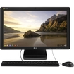 LG - 22 Chromebase All-in-One Computer - Intel Celeron 2 GB Memory and 16 GB Solid State Drive - Black