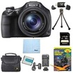 Sony - Bundle DSC-HX400V/B 50x Optiical Zoom 4K Stills Digital Camera 32GB Kit - E2SNDSCHX400B