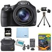 Sony - Bundle DSC-HX400V/B 50x Optiical Zoom 4K Stills Digital Camera 64GB Kit - E3SNDSCHX400B