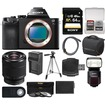 Sony - Alpha A7S Digital Camera Body w/ 28-70mm Zoom Lens+HVL-F60M Flash+64GB Card+Case+Batt/Charger+Tripod