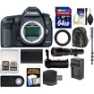 Canon - EOS 5D Mark III DSLR Camera Body+500mm Telephoto Lens+64GB Card+Backpack+Batt+Charger+Grip+Monopod