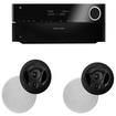 Harman Kardon - AVR 2700 7.1 Channel Receiver Plus A Pair of Polk Audio 90RT In-Ceiling Speakers