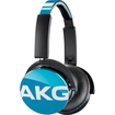 AKG - Y50 On-Ear Headphones With Universal One-Button Remote Control - Teal