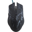 AGPtek - 2400DPI Adjustable 6D Buttons USB Wired Gaming Game Optical Mouse Mice for Laptop PC - Black