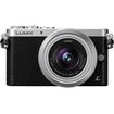 Panasonic - Lumix 16 Megapixel Mirrorless Camera with Lens (Body with Lens Kit) - 12 mm-32 mm Lens - Black