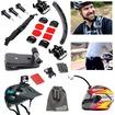 EEEKit - Bicycle Autocycle Kit for Gopro Hero 3+/3/2,Belt Clip+Helmet Strap Mount - Black