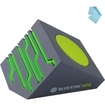 GOgroove - BlueSYNC EDG Wireless Bluetooth Speaker with Glowing LED Lights - Works with HTC One M8 & More - Gray